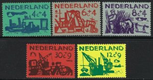 Netherlands Scott B331-B335 Mint Never Hinged