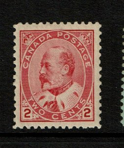 Canada SC# 90, Mint Hinged, Hinge Remnant, very minor gum dist - S11396