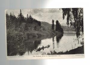 1906 Auckland New Zealand to Nashua New Hampshire US Real Picture Postcard Cover