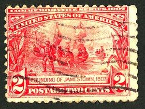 U.S. #329 USED