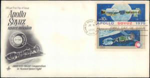 United States, Florida, First Day Cover, Space