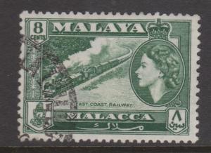 Malacca Sc#49 Used