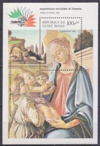 1985 Guinea-Bissau 888/B266 Artist / Sandro Botticelli 7,00 €