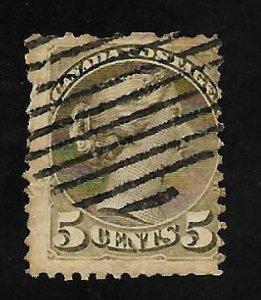 Canada 1876 - U - Scott #38 *