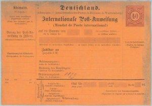 89235 - GERMANY Württemberg - Postal History - POSTAL STATIONERY COVER:  #A27II