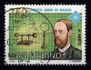 San Marino 1992 100 Years of Radio [Used]