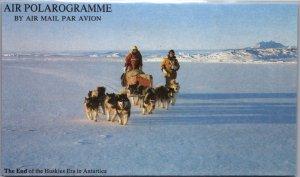 Australian Antarctic Territory, Polar, Dogs, Air Letters