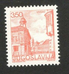1981 Yugoslavia 1779C Architecture