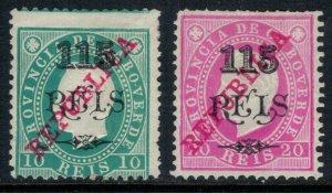 Cape Verde #184-5*  CV $5.25