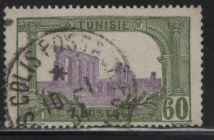 TUNISIA , 48, USED, 1906-26 Ruins of Hadrian's Aqueduct