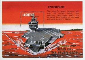 Lesotho #1220 USS Enterprise MNH