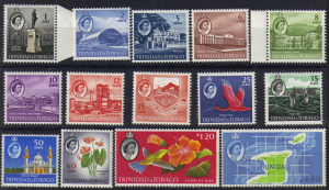 Trinida & Tobago #89-102, mint set, various designs