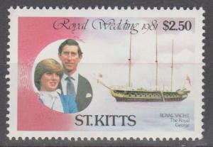 St Kitts #77  MNH VF (SU1668)