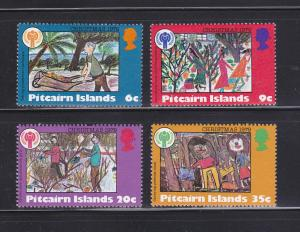 Pitcairn Islands 188-191 Set MNH IYC
