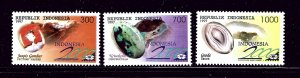Indonesia 1706-08 MNH 1997 Gemstones
