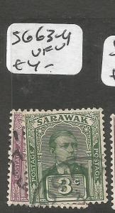 Sarawak SG 63-4 VFU (1cya)