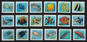 Dominica Fish 18v Definitives 1997 SG#2374-91