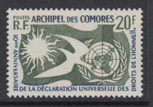 Comoro Islands, Scott 44 (Yvert 15), MNH