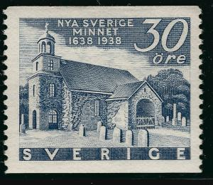 Sweden SC #271  Mint VF hr SCV $5.25 Very Nice!