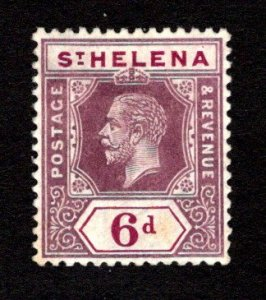 ST. HELENA  SC# 72  VF/MOG