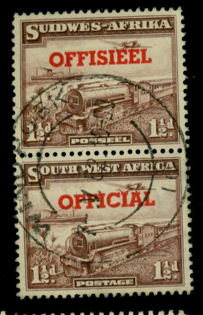 South W Africa #O25 Used F-VF Cat$32.50