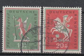 Germany - 1958 Tales Sc# B360/B361 (6491)