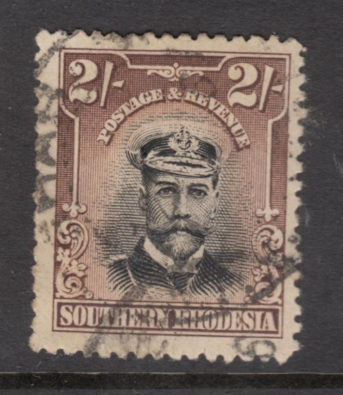 SOUTHERN RHODESIA 1924 2/- George V Fine Used