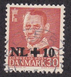 Denmark # B20, Surcharged Stamp, Used, 1/2 Cat.