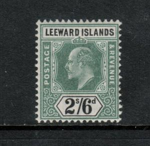 Leeward Islands #27 Mint Fine - Very Fine Never Hinged