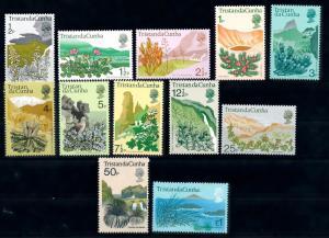 [66916] Tristan Da Cunha 1972 Flora Flowers Plants 12 Values MNH