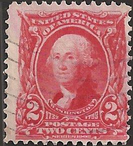 # 301 Carmine Used George Washington