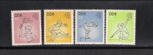GERMANY - DDR SC# 1665-8 F-VF MNH 1975