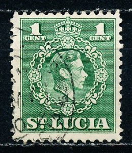 Saint Lucia #135 Single Used