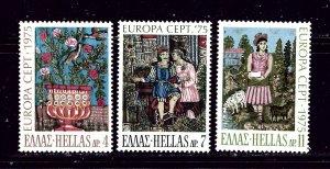Greece 1139-41 MNH 1975 Europa