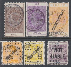 NEW ZEALAND Revenues : Counterpart, Not Liable, Fine Paid 6 used............K751