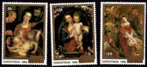 Cook Islands 1986 Scott 919-921 Christmas  MNH