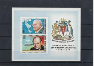 Sir Winston Churchill MNH Stamps Sheet 1865 Ref: R8005
