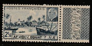 Afrique Equatorial Francaise 1941  Scott No. 79b  (O)