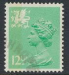 Great Britain Wales  SG W37a SC# WMMH20 Used  see scan 1 left side band