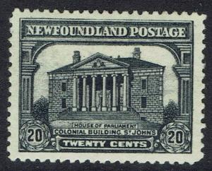 NEWFOUNDLAND 1929 PARLIAMENT BUILDING 20C PERKINS BACON PRINTING