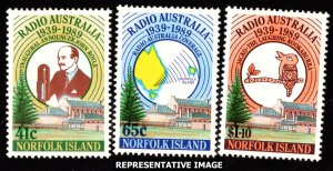 Norfolk Islands Scott 466-468 Mint never hinged.