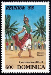 Dominica # 1077 mnh ~ 60¢ Belaire Dancer
