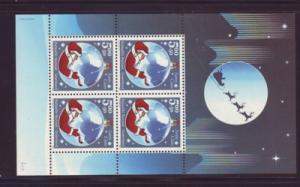 Greenland Sc B28a 2003 Christmas stamp sheet mint NH