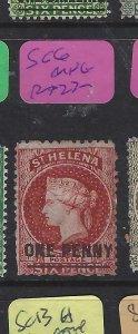 ST HELENA  (P0705BB)  QV  1D       SG 6   MNG