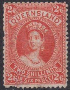 Australia - Queensland 1882-1885 SC 75 MLH