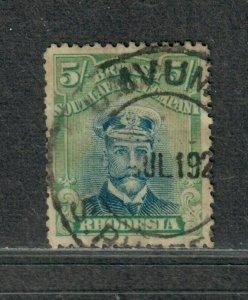 Rhodesia Sc#135 Used/VF, Toned, Cv. $100