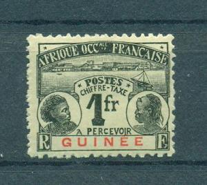 French Guinea sc# J15 mh cat value $13.50