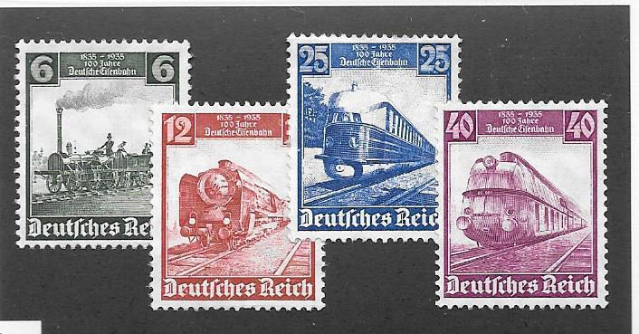 Germany #459-462 Mint NH