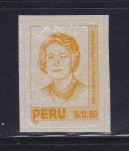 Peru 1055 Set MH Rosalia De LaValle De Morales