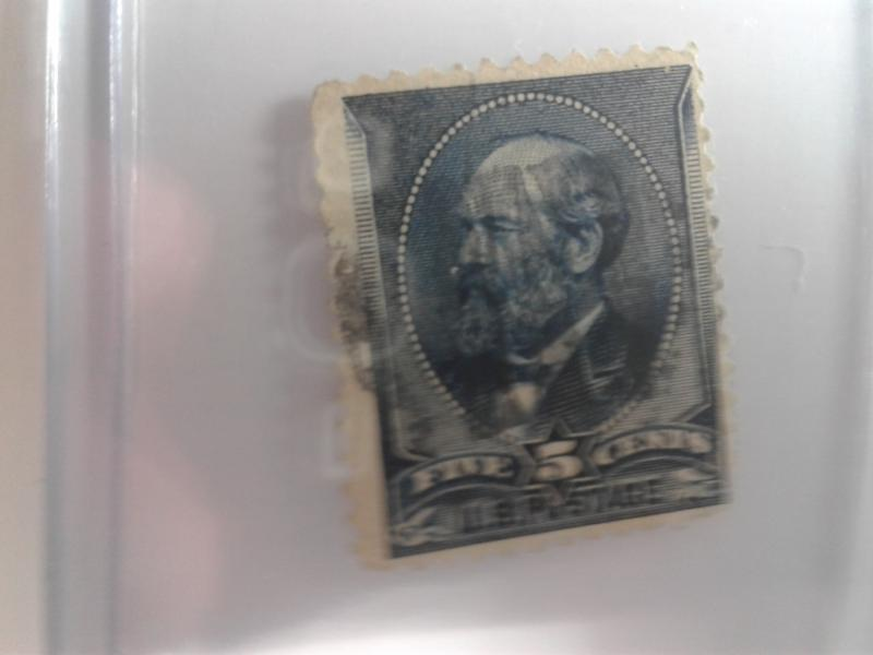 SCOTT # 216 USED BANK NOTE  1882 SOUND